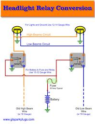 automatic headlight wiring diagram H4 Halogen Headlight Wiring Diagram How to Wire Headlights Diagram