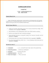 Objective In Job Resume Sevte