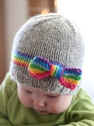 Knit Baby Hat Pattern Circular Needles Interesting Baby Hat Knitting Patterns In The Loop Knitting