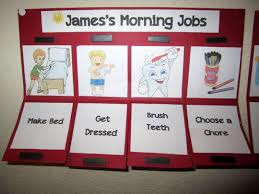 Diy Childrens Chore Chart Todays The Best Day