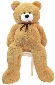 Kangaroos-Jumbo-5-Foot-Stuffed-Teddy-Bear-Plush- Kangaroo\u0027s Jumbo 5 Foot Stuffed Teddy Bear Plush Toy | Hobby Leisure