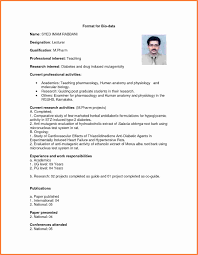 Married Cv Format Marriage Cv Format Doc Of Resume Best New Biodata