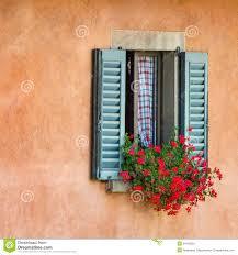 Antique Windows Vintage Windows With Fresh Flowers Stock Photos Image 34274353