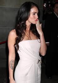 Tattoo Disasters Favorite Celebrity Tattoo Design Megan Fox