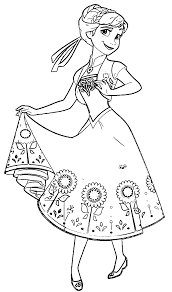 Small Picture Anna coloring pages frozen fever ColoringStar