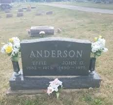 Effie Gilbert Anderson (1882-1978) - Find A Grave Memorial