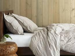 tan duvet covers king heathered stripe duvet cover set
