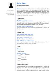 Latex Resume Template Magnificent CV Or Resume ShareLaTeX Online LaTeX Editor Resume Template