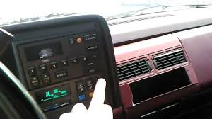 89 chevy interior and walk around - YouTube