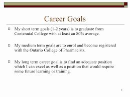 Short Term Professional Goals Short Term Professional Goals 30 Smart Goals Examples