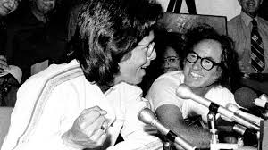 「1973 Billie Jean King, 29, beats Bobby Riggs」の画像検索結果