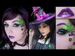 witch makeup tutorial video clip