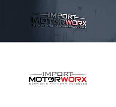 logo design by beisone1 for import motorworx design 12876771