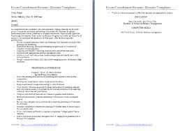 Event Coordinator Resume Objective Event Coordinator ...