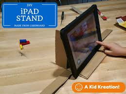 cardboard ipad stand for stop motion s