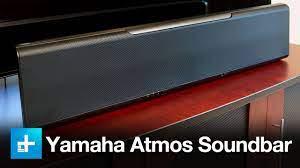 Yamaha YSP-5600 Atmos/DTS-X Sound Bar - Review - YouTube