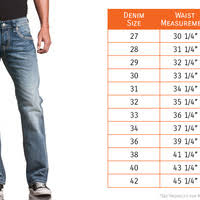Rock And Revival Size Chart