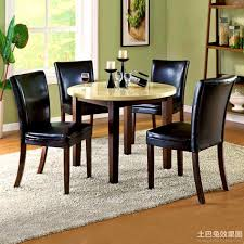 small square kitchen table: square round kitchen tables what choose traba homes black circle table stylish design