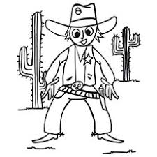 Small Picture Top 25 Free Printabe Cowboy Coloring Pages Online