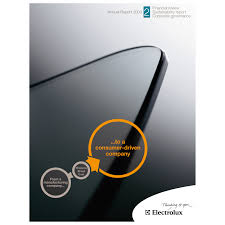 electrolux annual report ranked best in the world electrolux group electrolux annual report cover part 2