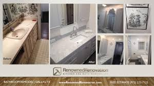 Dallas Bathroom Remodeling Bathroom Addition Renowned Renovation - Bathroom remodel estimate