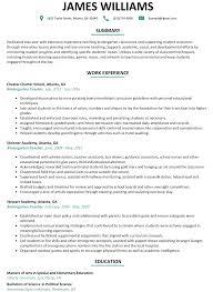 Curriculum Vitae Sample For Kindergarten Teacher Inspirational