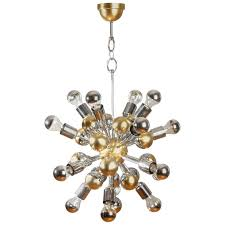 gold and silver chandelier94