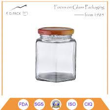 china square glass honey jar with metal cap china glass honey jar glass honey bottle