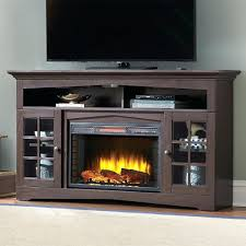 faux fireplace entertainment center diy stone electric corner