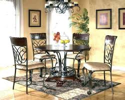 medium size of modern rustic kitchen table sets farmhouse circular dining exciting glass top round set