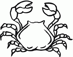 Small Picture Crab Coloring Pages Coloring Page