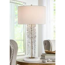 john richard lighting. John Richard Small Cascading Waterfall Crystal Table Lamp - #9T760 | Lamps Plus Lighting