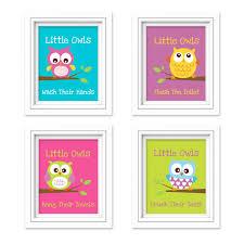 Owl Bedroom Decor Owl Curtains Kids Bedroom