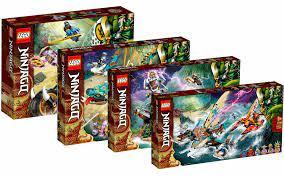 LEGO Ninjago Legacy: all new 2021 sets