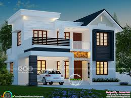 Kerala House Design Photo Gallery Bhk Square Feet Modern House Plan Kerala Home Design Foot