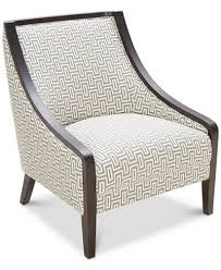 Home Decor Accent Furniture Landor Printed Accent Chair Furniture Macy's 82