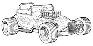 Small Picture Hot Rod Coloring Pages Bestofcoloringcom