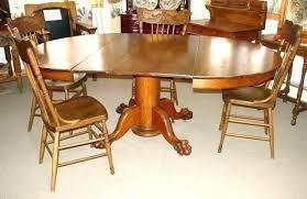 antique round oak dining table antique round table with claw feet antique round oak table antique