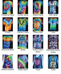 Diy Tie Dye Patterns