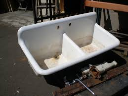 kitchen sink with legs vintage cast iron utility sink with legs
