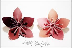 Paper Flower Designs Paper Flowers A Little Starlette