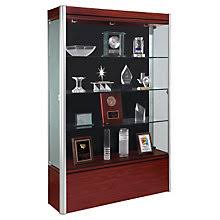 office display cases. Contempo Display Case - 48\ Office Cases U