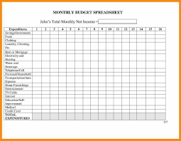 Financial Spreadsheet For Small Business With 8 Monthly Expenses