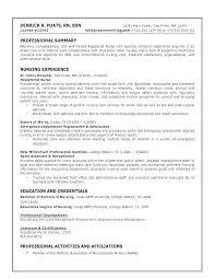 Writing A Nursing Resume Amazing Nursing Professional Resume Resume For Nursing Free Templates What