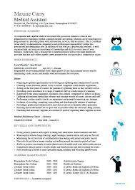 Sample Resume For Medical Assistant Best Medical Assitant Resume Medical Assistant Resume Template Free