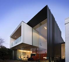ultra modern architecture. Delighful Modern Ultra Modern Glazed Architecture Homes With Black Wall And Floating  Balcony In Upper Level For R