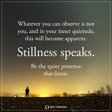Stillness Speaks Zen Thinking
