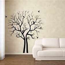 charming home interior decoration with stencil wall arts fancy living room decoration with white leather