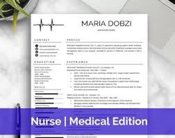 Doctor Resume | Etsy