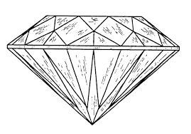 Coloring Diamonds Contemporary Diamond Coloring Page Preschool In